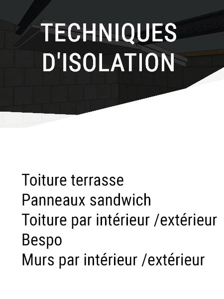 Techniques d'isolation