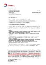 Certificat Alimentarité Bidon